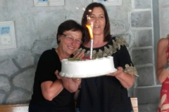 Jagoda Sekula slavljenicima je pripremila tortu