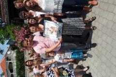 Zamjenik načlenika i gospođa Cillie sa obitelji