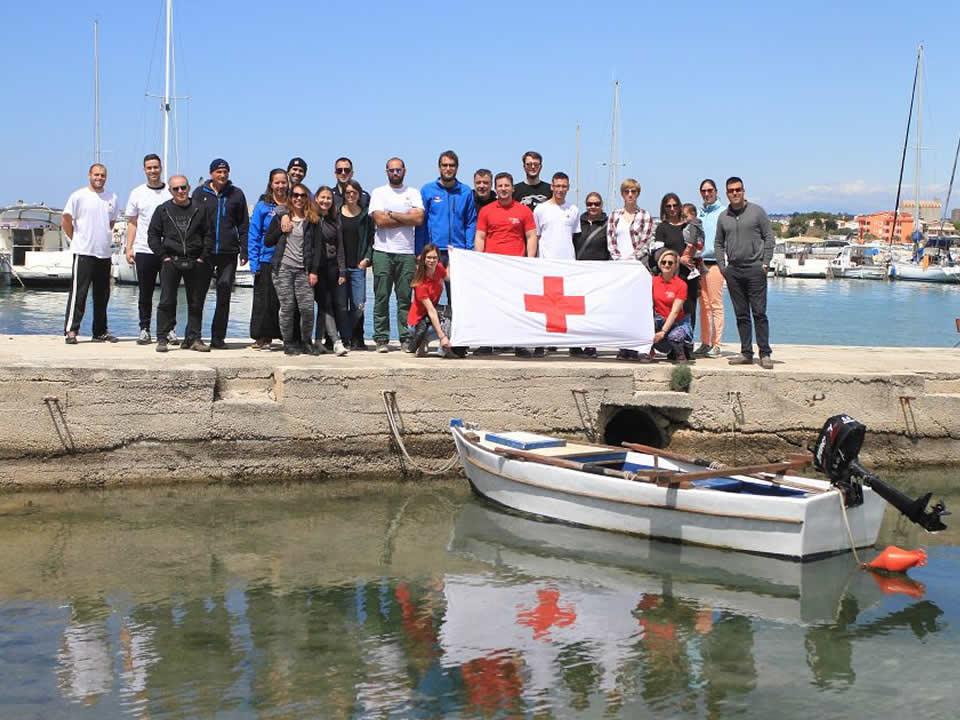 Eko akcija ''Crveni križ u plavom okviru'' Bibinje