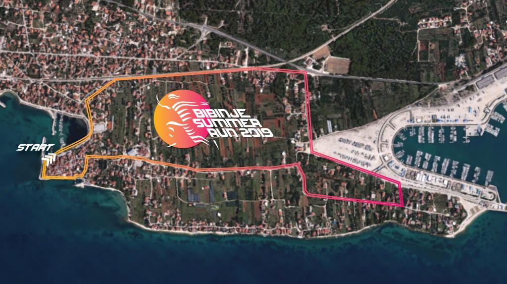 Mapa summer run